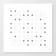 #193 Sudoku – Geometry Daily Canvas Print