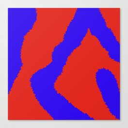 ABSTRACT PRINT 83 Canvas Print