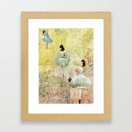 Petit Pas (Little Steps) Framed Art Print