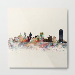 buffalo city new york Metal Print