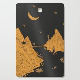 Desert Landscape Cutting Board