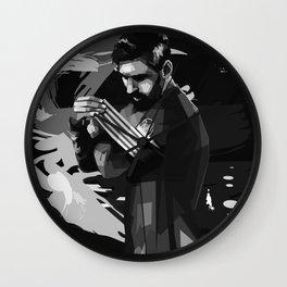 Lionel on WPAP Pop Art Wall Clock