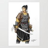 Jin Yi Wei Art Print