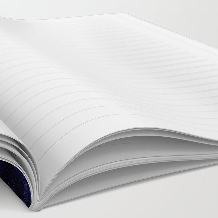Spiral gAlAxy : Purple Blue Notebook