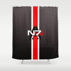 N7 Shower Curtain