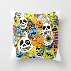 Halloween Print Throw Pillow