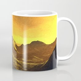 A Sunny Day On Mercury Coffee Mug