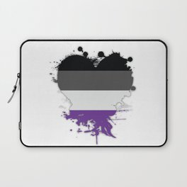 Asexual Heart Laptop Sleeve