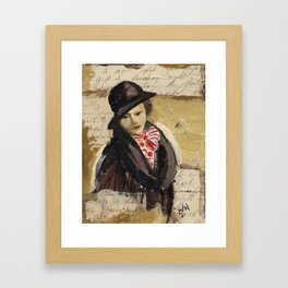 Out of Yesterday #1 Framed Art Print