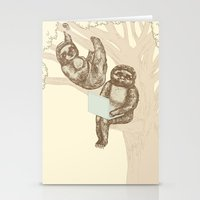 evolution Stationery Cards featuring Evolution by Mirisch