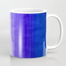 Ocean Horizon - cobalt blue, purple & mint watercolor abstract Coffee Mug