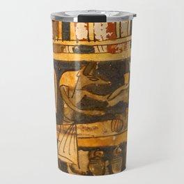 Egyptian Ancient Art Travel Mug