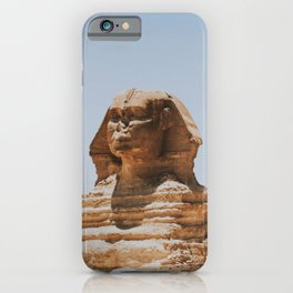 The Great Sphinx of Giza / Egypt iPhone Case