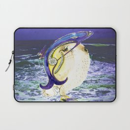 See Bird Fish Laptop Sleeve