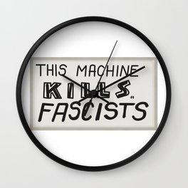 This machine kills fascists Wall Clock