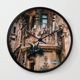 New Town Hall Munich Wall Clock