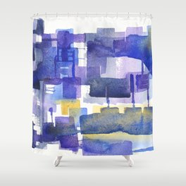 Forge City Shower Curtain