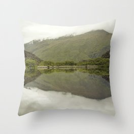 Reflections from Diamond Lake Throw Pillow