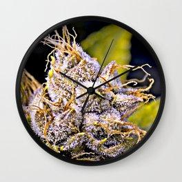 Kush Trichome Wall Clock