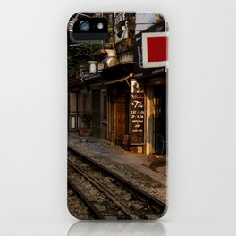 Evening in Hanoi iPhone Case