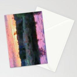 Monet Inspired Sunrise Stationery Cards