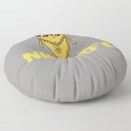 Nug Life Gift Chicken Tender Nugget Floor Pillow