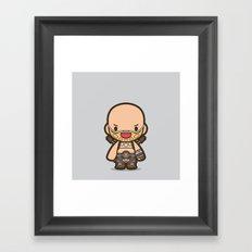 Rictus Framed Art Print