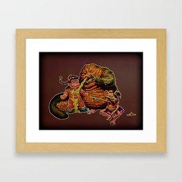 Jabba The Snot Framed Art Print