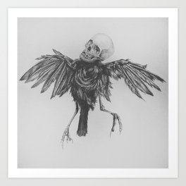 Hell Bird Art Print
