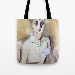 12,000pixel-500dpi - Modern Schoolgirl - Helene Sofia Schjerfbeck Tote Bag