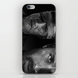 Rick and The Governor iPhone Skin
