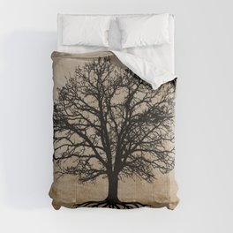 Tree of Life - Crow Tree Modern Farmhouse Decor A823 Comforters