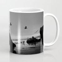 runner Mugs featuring Arch Runner by Kevin Russ