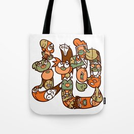 地 - EARTH Tote Bag