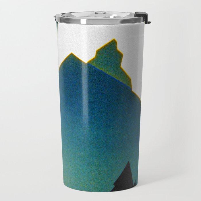 See America Montana - Retro Travel Poster Travel Mug