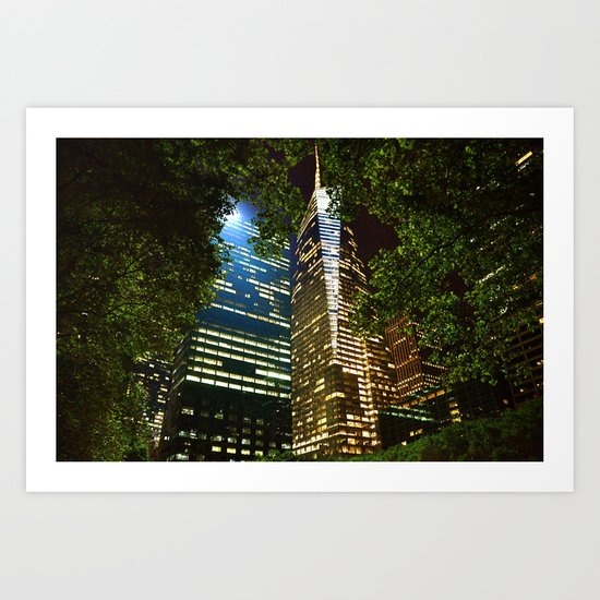Framed by Nature Art Print