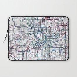Atlanta map Laptop Sleeve