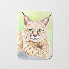 Tiger Lilly Bobcat Bath Mat