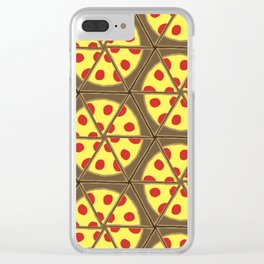 A Little Pizza My Heart Clear iPhone Case