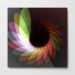 Elliptical Motion Metal Print