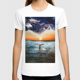 A whale and a morning T-shirt