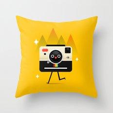 チーズ Throw Pillow