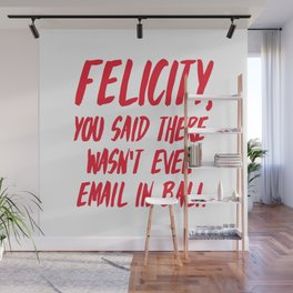 Felicity, you said there wasn't even email in Bali Wall Mural