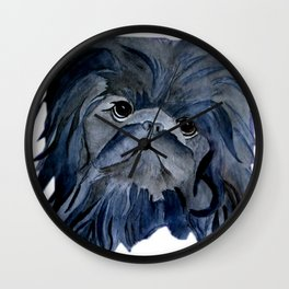 Pekingese Dog love... Wall Clock