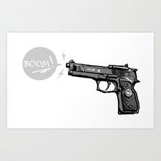 The Boom Art Print