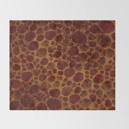 """Giraffe Cave Painting"" Throw Blanket"