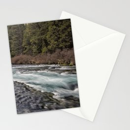 Metolius River near Wizard Falls Stationery Cards
