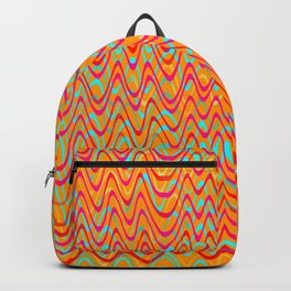 color waves 4 Backpack