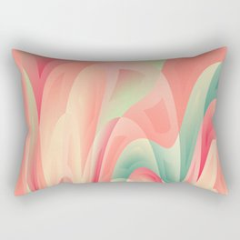 Abstract color harmony Rectangular Pillow