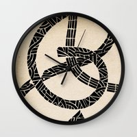 lovers Wall Clocks featuring - lovers - by Magdalla Del Fresto